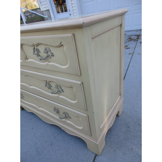 Metal Baker Furniture Side-By-Side Double Chest of Drawers For Sale - Image 7 of 11