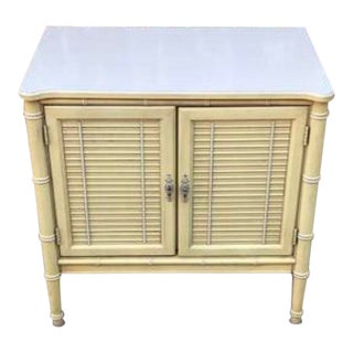 1970s Chinoiserie Henry Link Bali Hai Nightstand For Sale