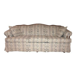 Broyhill Floral Sofa & Pillows