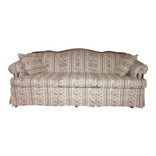 Broyhill Floral Sofa & Pillows