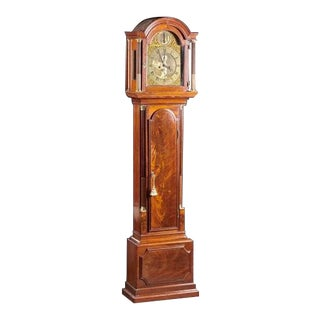 A London Made Mahogany Tall Clock For Sale