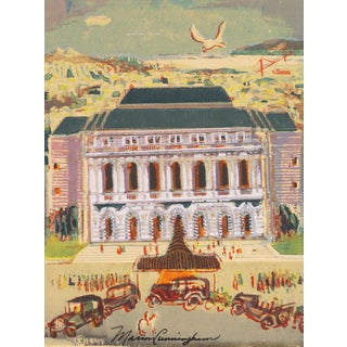 The San Francisco Opera House by Marion Osborn Cunningham, 1945 For Sale