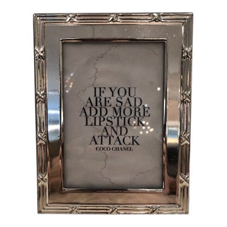 Silverplate Frame For Sale