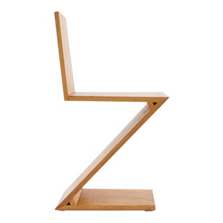 Gerrit Rietveld, Zig Zag Chair, C. 1969 For Sale