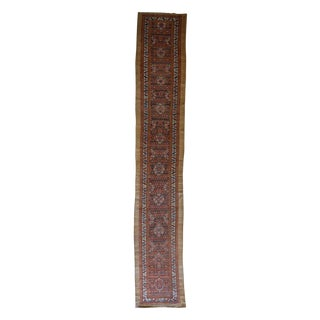 Antique Persian Hamadan Runner For Sale