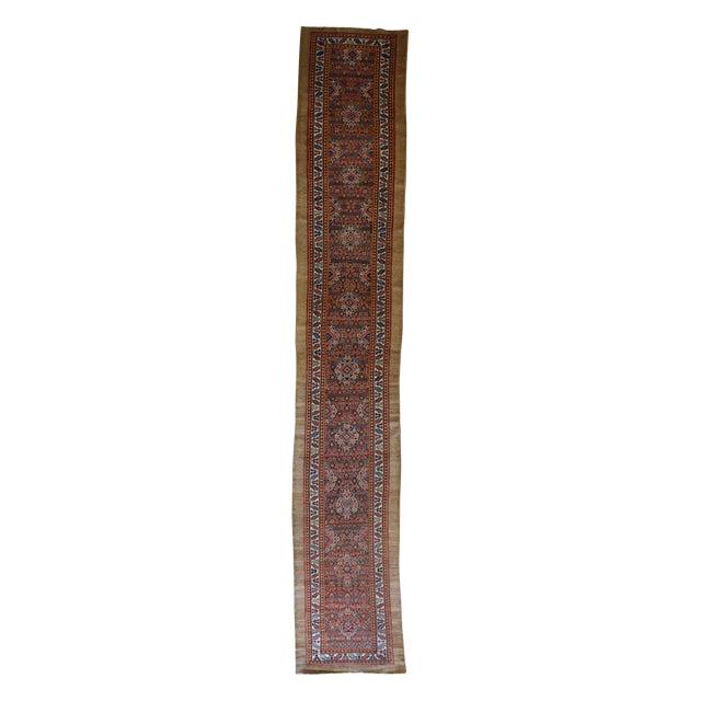 Antique Persian Hamadan Runner - Image 1 of 3