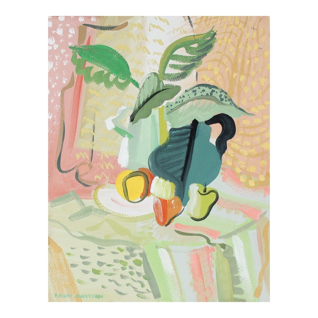 Bright Still Life Painting, Circa 1940s - Image 1 of 3
