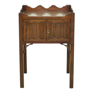 Kittinger Cw-57 Colonial Williamsburg Mahogany Commode Nightstand For Sale