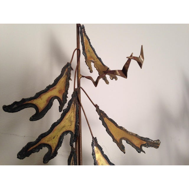 Curtis Jere Signed 1982 Alpine Trees Wall Sculpture - Image 11 of 11