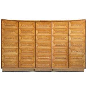 Sculptural Osvaldo Borsani Wall Cabinet, 1939 For Sale