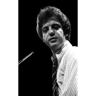 1975 Original Giclee Photograph of Billy Joel For Sale