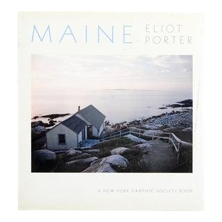 """1986 """"Maine"""" Eliot Porter Book"""