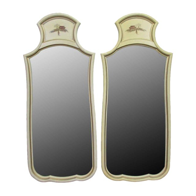 French Country Mirrors - A Pair For Sale