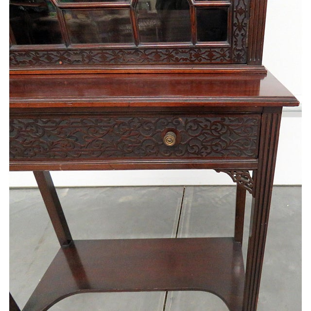 Early 19th Century 19thC Georgian Collectors Cabinet For Sale - Image 5 of 12
