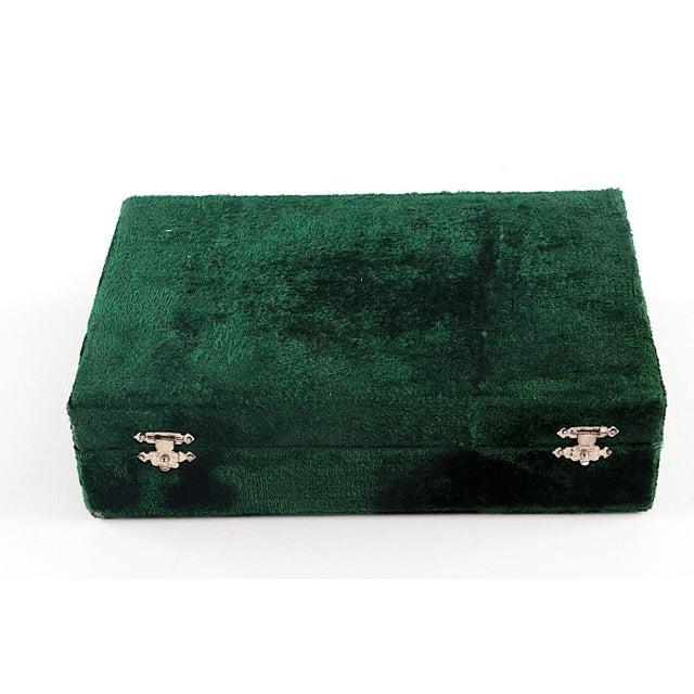 Gemstone Onyx Napkin Rings in Velvet Presentation Case - Set of 12 For Sale - Image 7 of 9