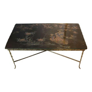 1930s Bagues Style Coffee Table For Sale