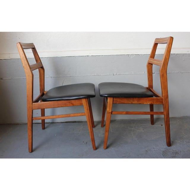 Mid-Century Danish Modern Foster-McDavid Furniture Inc. Chairs - Set of 3 - Image 6 of 11