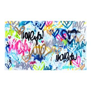 """School Yard Love"" Original Artwork by Amber Goldhammer For Sale"