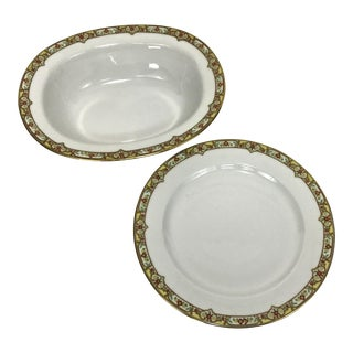 French Limoges Serving Pieces - A Pair