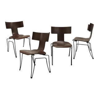 Donghia Modernist Anziano Chairs - Set of 4