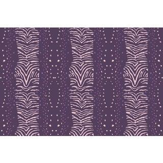 Zebra Regal Linen Cotton Fabric, 6 Yards For Sale
