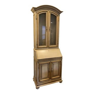 Hollywood Regency Style Display Cabinet Secretary by Baker Furniture For Sale