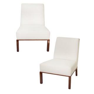 Dunbar Slipper Chairs For Sale