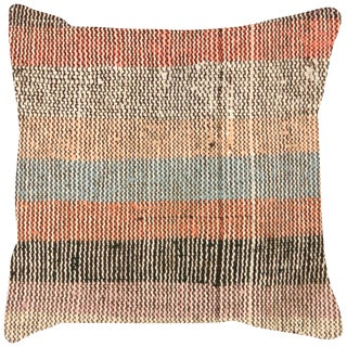 "Nalbandian - 1960s Turkish Hemp Pillow - 15"" X 15"" For Sale"