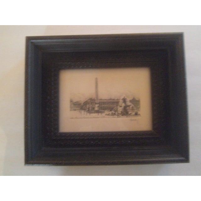 Henri Be'rengier Signed Paris Engraving - Image 2 of 8