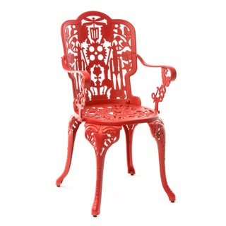 Seletti, Industry Armchair, Indoor/Outdoor, Red, Studio Job, 2017 Preview