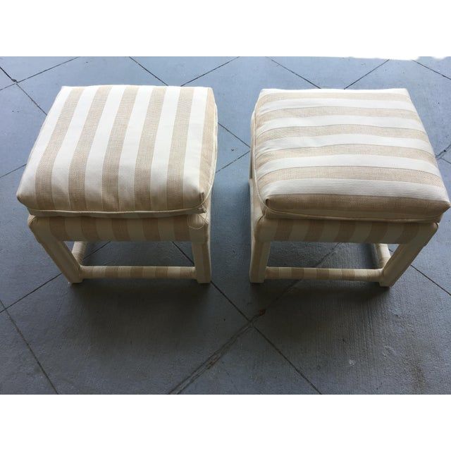 Mid-Century Parsons Stools - A Pair - Image 4 of 7
