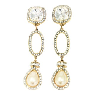 Vintage Valentino Earrings - a Pair For Sale