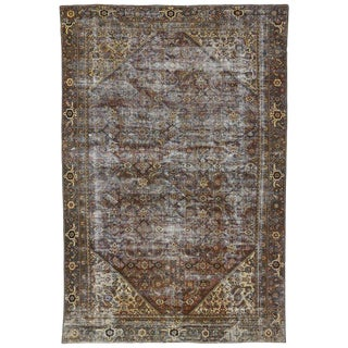 20th Century Persian Mahal Rug For Sale