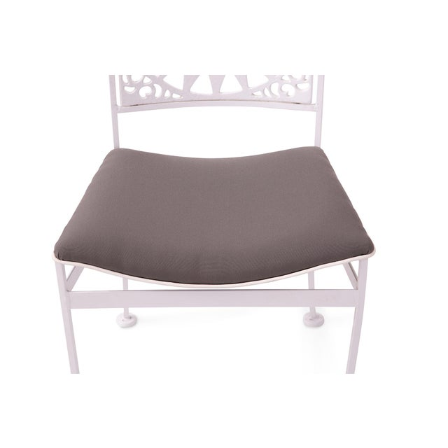 """Gray Arthur Umanoff """"Mayan"""" Iron Dining Set for Shaver Howard For Sale - Image 8 of 10"""