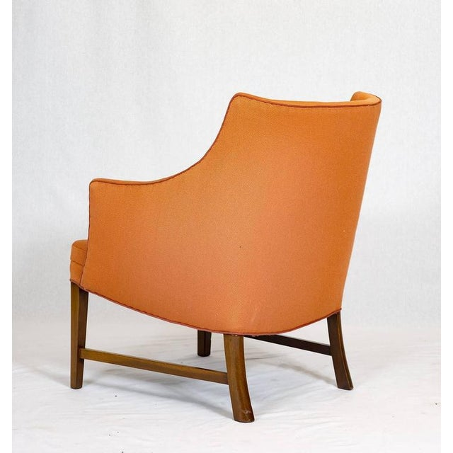 1940s Frits Henningsen Lounge Chair For Sale - Image 5 of 9