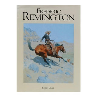 Frederic Remington Coffee Table Book For Sale