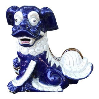 Vintage Chinese Foo Dog Statue For Sale