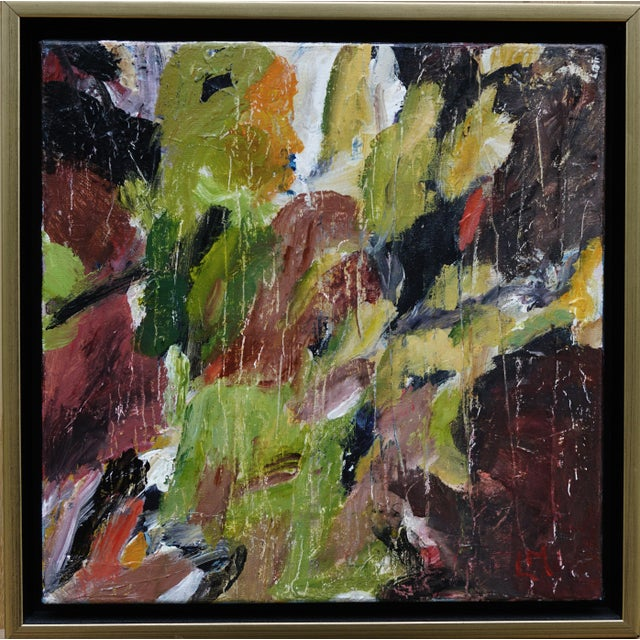 """Laurie MacMillan """"Natural Progression"""" Abstract Painting, Framed For Sale In Los Angeles - Image 6 of 6"""