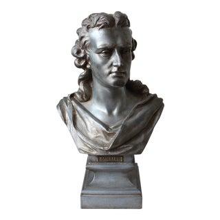 Spelter Bust of Schiller