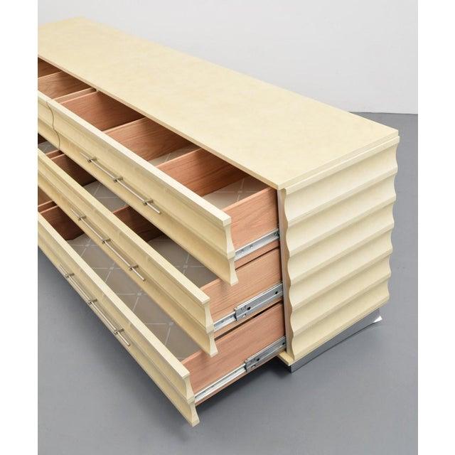 Mid-Century Modern Modern Tommi Parzinger Lowboy Dresser For Sale - Image 3 of 11