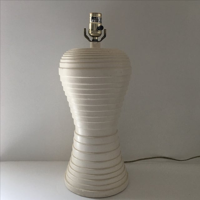 Modern Pleated Lamp - Image 2 of 7