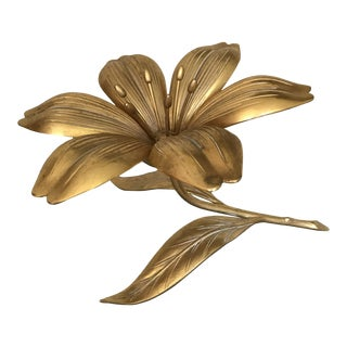 Flower Ashtray by S. Agudo For Sale