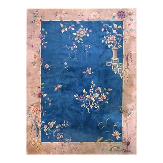 Antique Chinese - Art Deco Rug For Sale