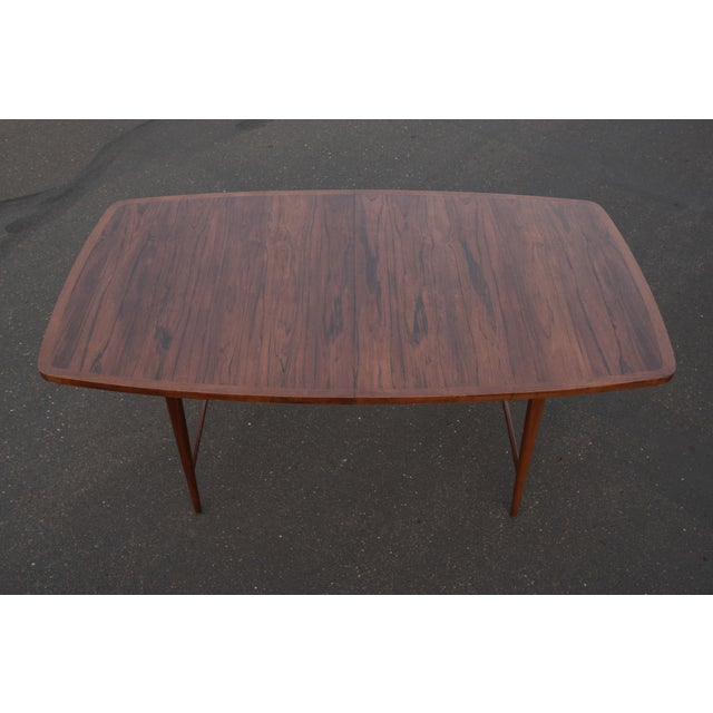 Mid-Century Modern 1960s Mid-Century Modern Paul McCobb Rosewood Lane Delineator Series Dining Table For Sale - Image 3 of 10