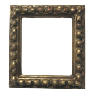 1950s Vintage Italian Gilded Picture Frame For Sale