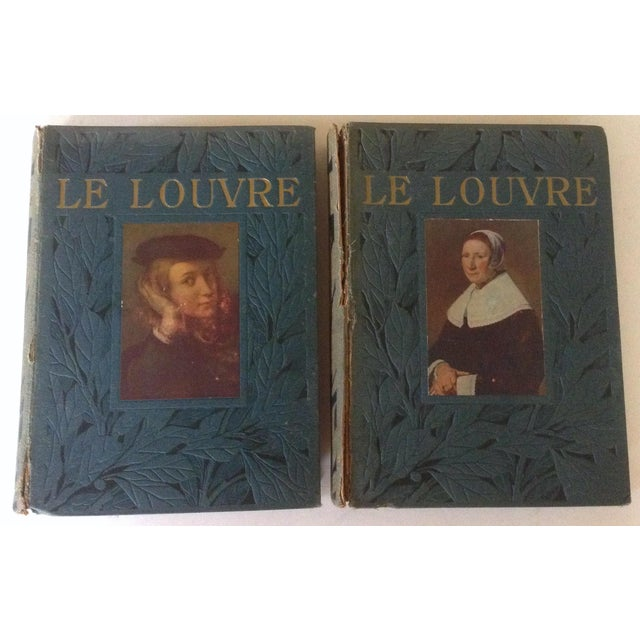 This 2 volume set includes the publications from the Louvre in 1913 & 1914. They are from the estate of Richard Gump, if...