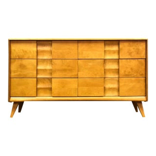 Solid Maple Heywood Wakefield Dresser For Sale
