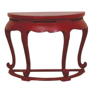 Contemporary Asian Console Table For Sale