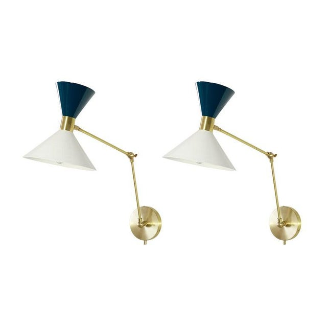 """Monarch"" Wall Sconces - a Pair For Sale - Image 12 of 12"