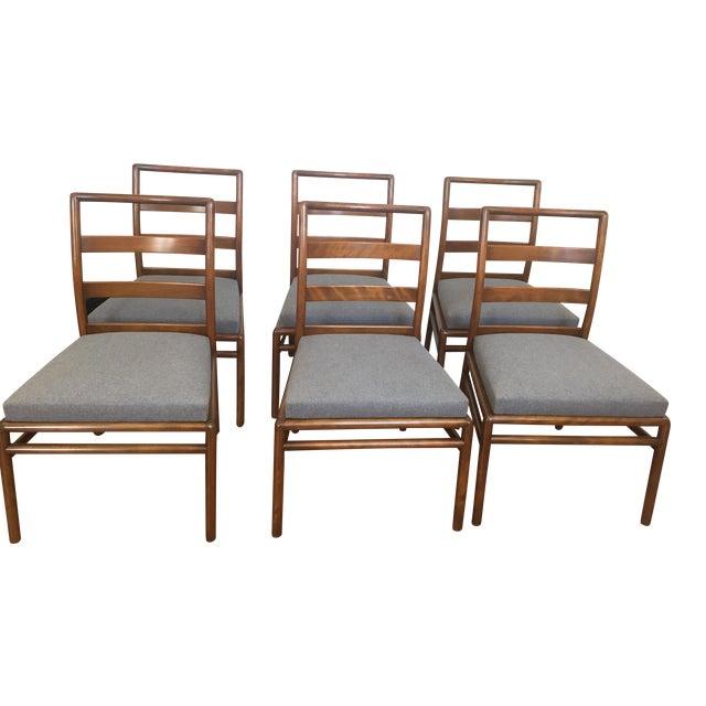 Robsjohn Gibbings for Widdicomb Dining Chairs- Set of 6 - Image 1 of 11
